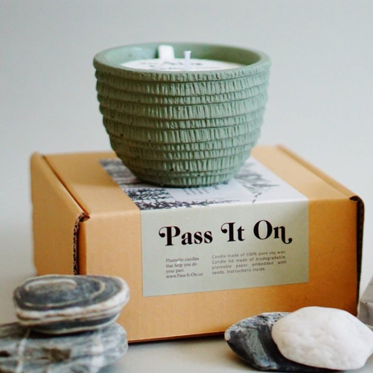 Pass It On candle – Alps